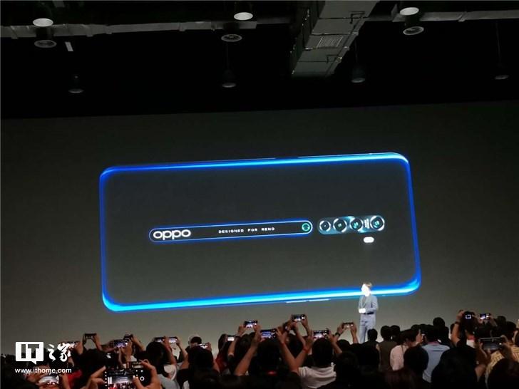 OPPO Reno2手机亮相:20:9全景屏,3.35mm窄下巴