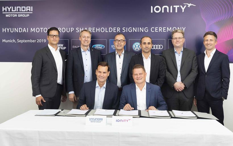 现代汽车电动化新举措 投资IONITY高功率电动汽车充电网络