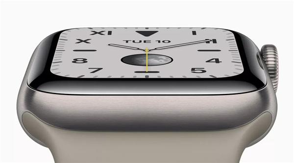 "Apple Watch Series 5评测:""常亮""显示屏成最关键性的改进"