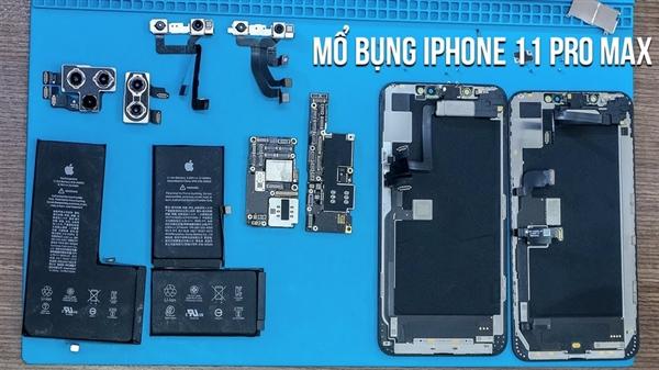 iPhone 11Pro Max曝全球首拆