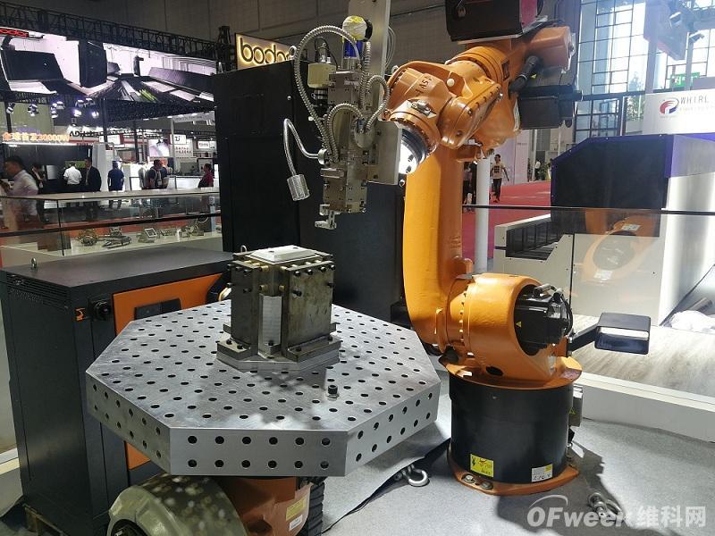 ROB-WELD机器人激光焊接系统