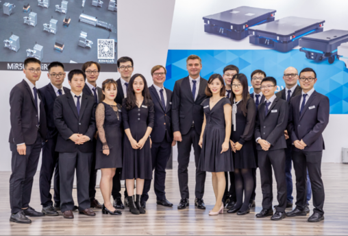 MiR自主移动机器人携产品矩阵,亮相2019中国国际工业博览会