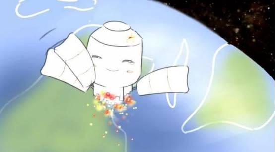 清理太空垃圾人人有责,这颗卫星打算从自己做起