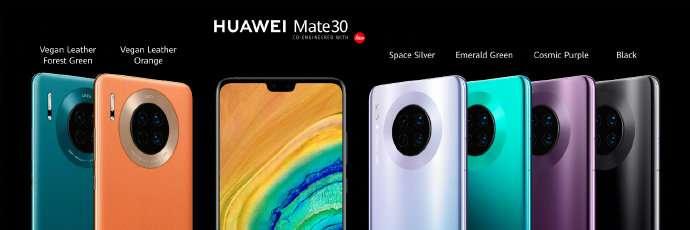 """""""乾坤圈""""华为Mate 30全球发布:4000万徕卡四摄+二代5G手机 售价799欧起"""