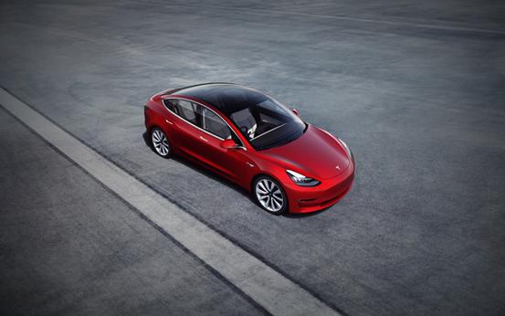 特斯拉Model 3获得IIHS最佳安全车型评级