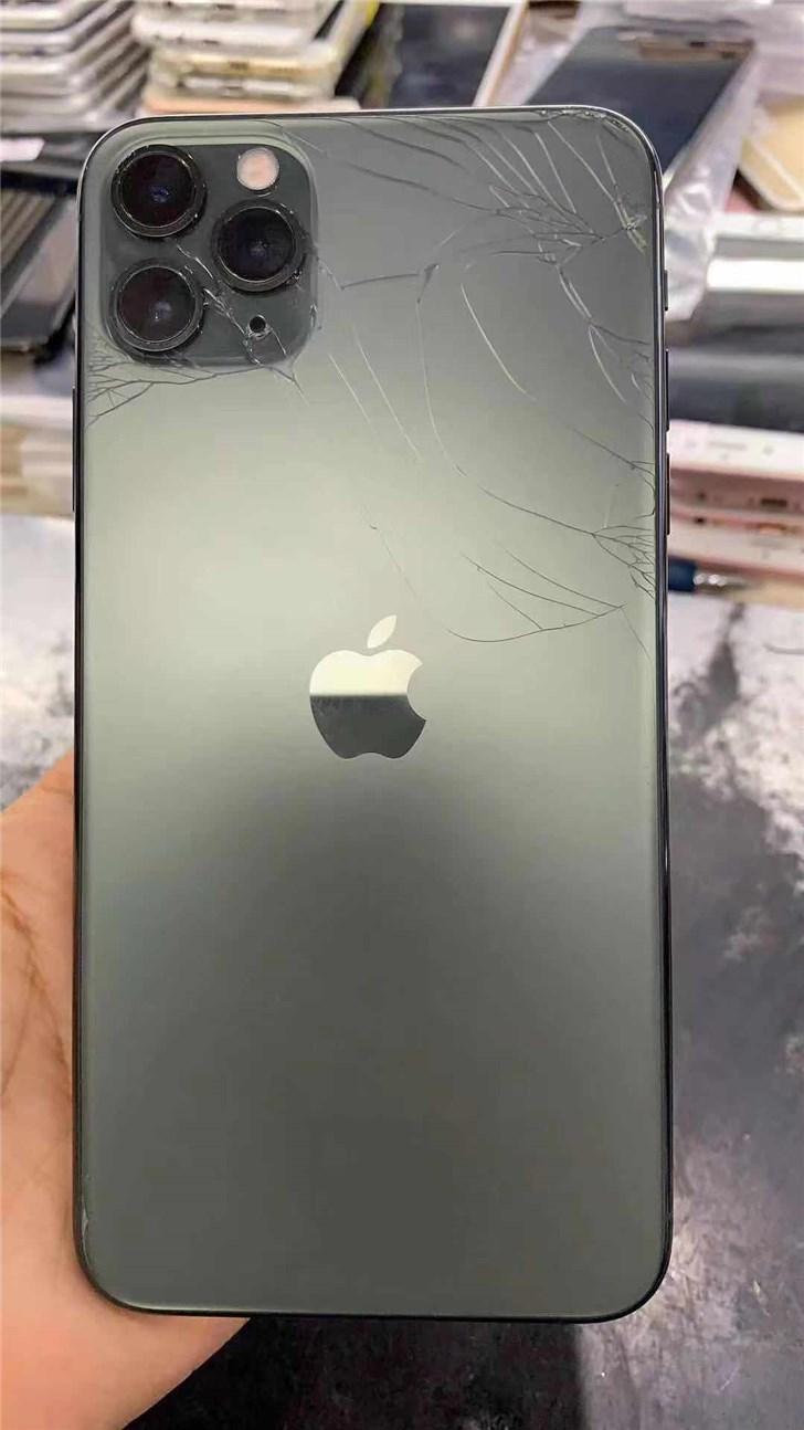 最硬玻璃也拦不住:多部苹果iPhone 11 Pro已碎