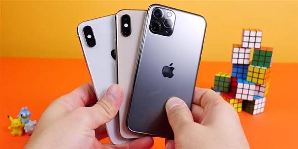 iPhone X/XS/11 Pro实机运行速度测试:A13表现尴尬