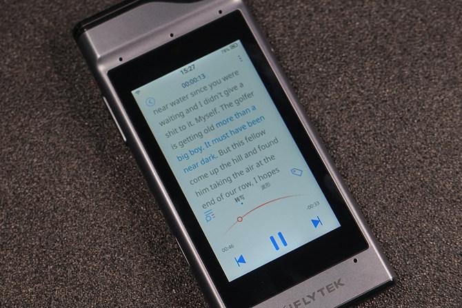 录音实时转文字 讯飞录音笔SR301青春版体验评测