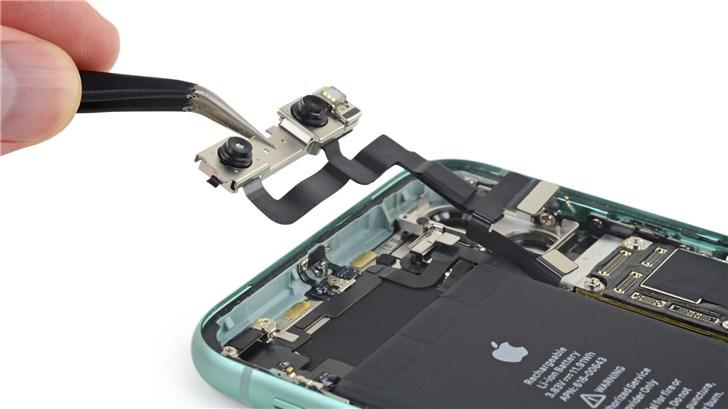iFixit拆解苹果iPhone 11:iPhone XR的加料升级版