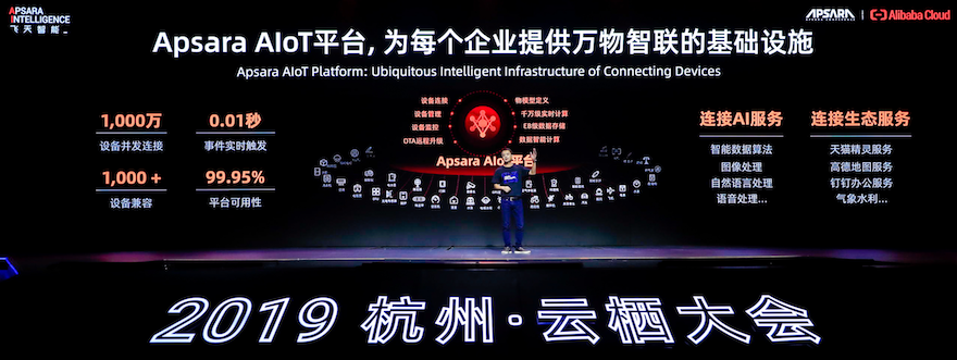 阿里云发布新一代AIoT智能设备操作系统,可实现秒级故障定位