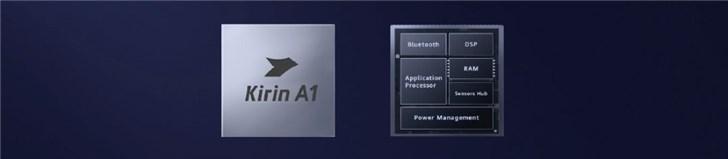 华为麒麟A1官方详解:支持BT/BLE双模5.1可穿戴芯片,真无线连接