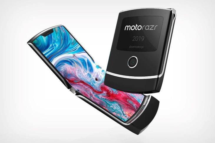新折叠方式,摩托罗拉Razr折叠屏手机或将年底发布