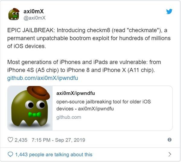 iPhone可永久越獄是怎么回事?iPhone可永久越獄如何實現?