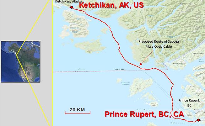 阿拉斯加州-加拿大海底光缆KetchCan1建设获批