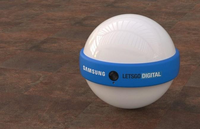 三星智能家庭机器人专利公布:球形设计,会滚动