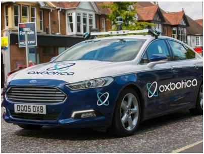 Oxbotica开发自动驾驶软件,每秒可以检测150辆汽车
