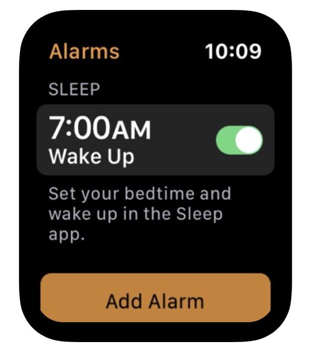应用截图表明苹果将为 Apple Watch 加入睡眠监测功能