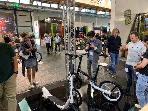 """洪记两轮在Eurobike上推出面向欧洲市场的Ebike新品""""stone"""""""
