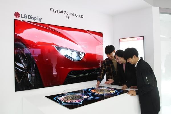 LGD战略转移,明年OLED电视面板营收将首次超过LCD