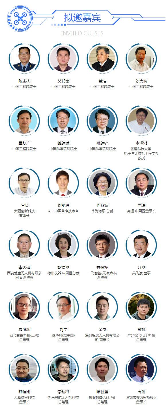 中国工程院院士樊邦奎将出席2019中国(南京)国际无人机系统产业大会