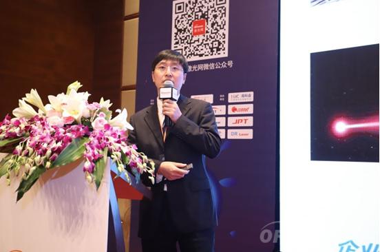 华光光电战略产品部总经理李沛旭:高功率高效率半导体激光器芯片及器件