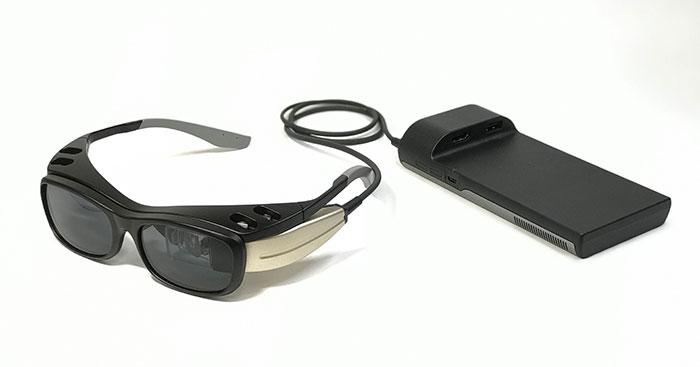 重量仅40g,日本视网膜投影AR眼镜RETISSA Display II发售,售价1.6万元起