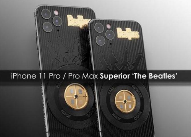 乔布斯定制版iPhone 11 Pro限量4部:售价4.4万起