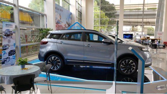 福特领界EV实车到店 安全与服务并驾齐驱