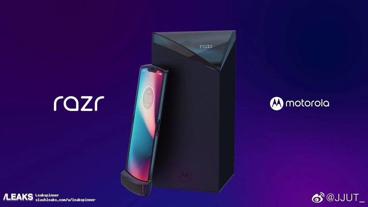 摩托罗拉预告可折叠 RAZR 手机将于 11 月 13 日推出