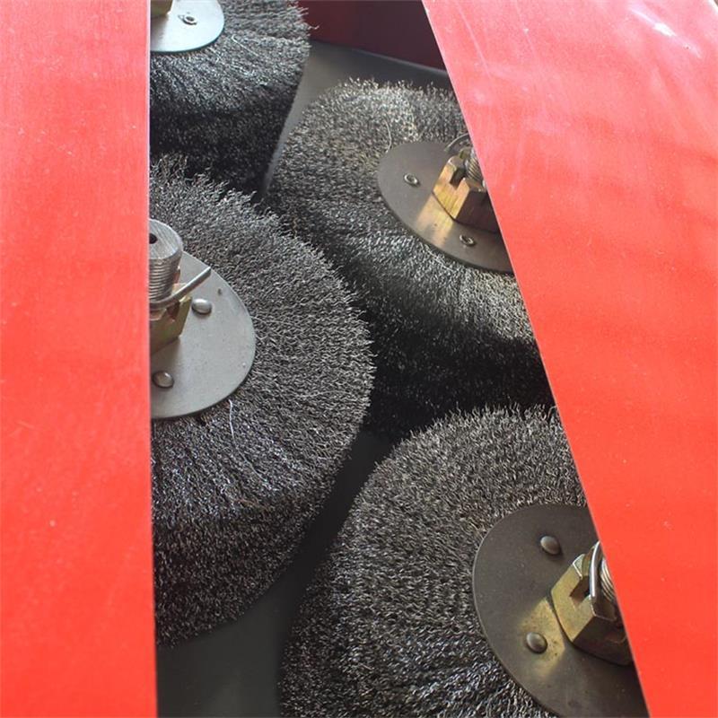 螺纹钢筋除锈机 方管除锈机详情展示