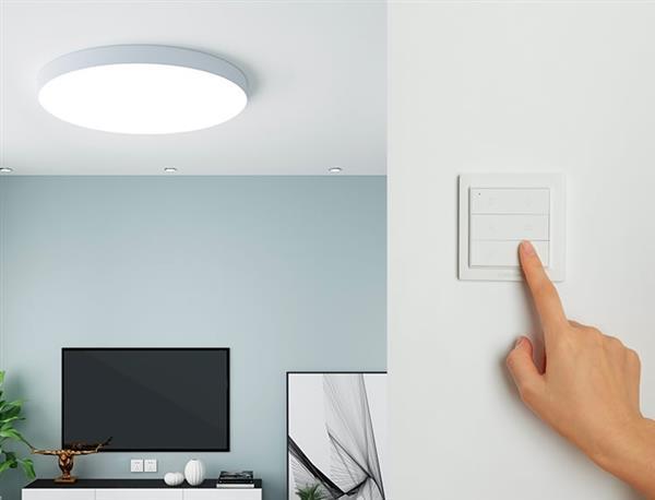 一图看懂:绿米Aqara OPPLE吸顶灯支持6种开灯方式