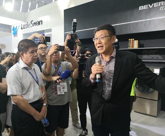 家电博览会开幕:美的IoT创新技术成果首次公开亮相