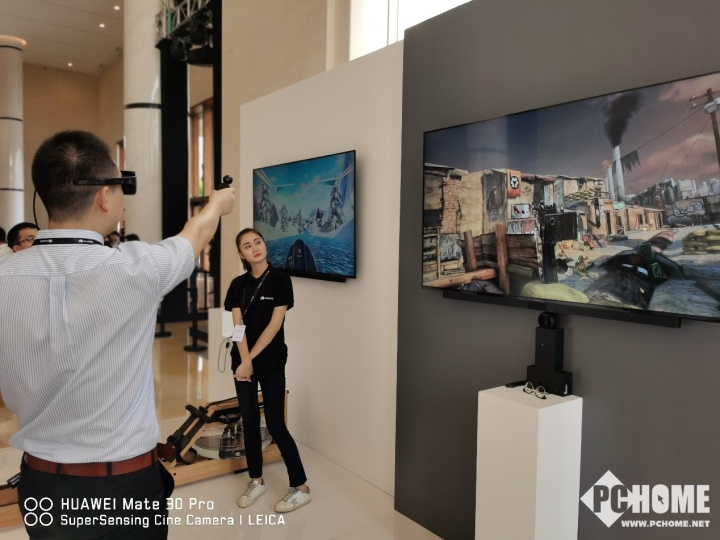 华为展示全球首个5G+VR二次元偶像直播
