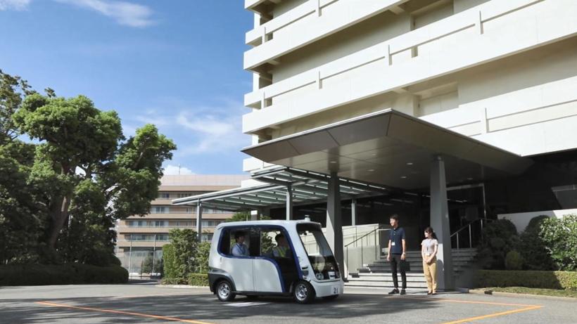 松下在总部附近推自动驾驶共享出行服务 由行政人员操作