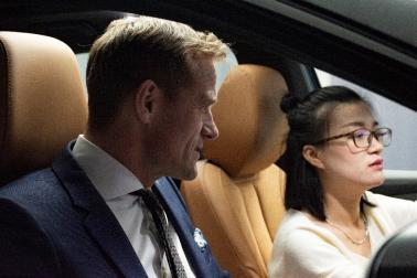 德国汽车工业协会一行到访天际汽车