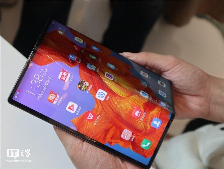 华为官方提示:Mate X 5G折叠屏手机勿在低...