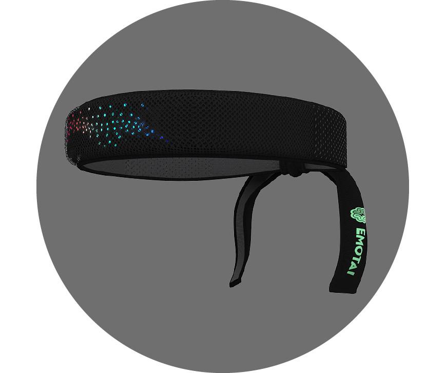 EMOTAI,可以测量脑电波和心率的智能头带