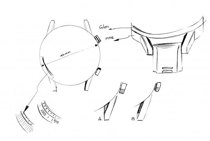 荣耀Magic Watch 2手表外形曝光:46mm圆形表盘