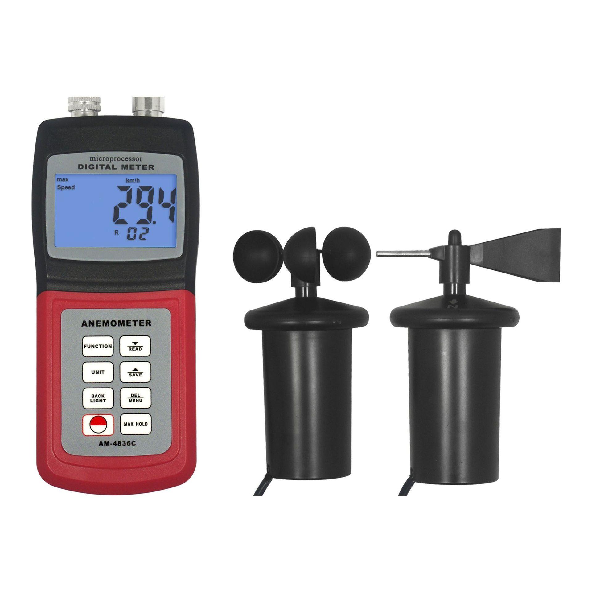 如何使用风速仪进行气流测量?
