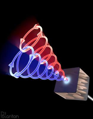 人造磁场中的大量光子