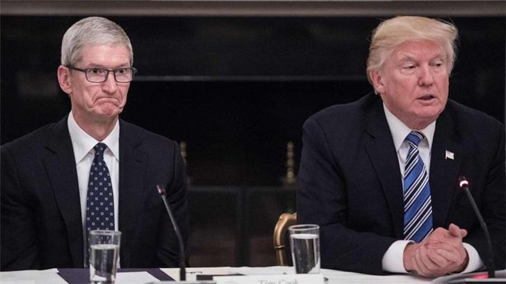 """特朗普:苹果拥有""""一切"""" 应参与美国5G基础设施建设"""