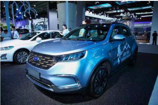 最抢眼的大空间纯电动SUV 领界EV亮相广州车展