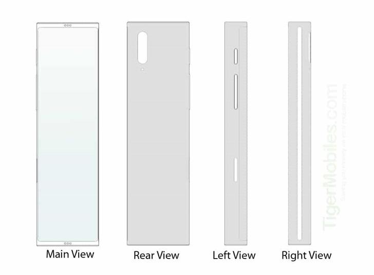 可伸缩屏幕,LG手机新设计曝光:正常状态宽高比超过30:9