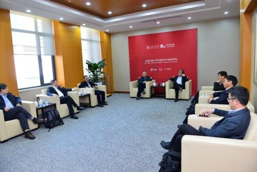 中国最大公司走进上海交大 知行合一引领商学变革