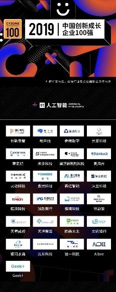 """叠境数字入选""""创业邦2019中国创新成长企业100强"""""""