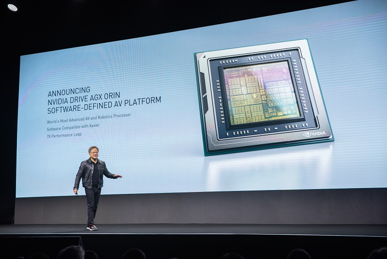 英伟达发布新一代自动驾驶芯片Orin 深度学习推理引擎TensorRT 7