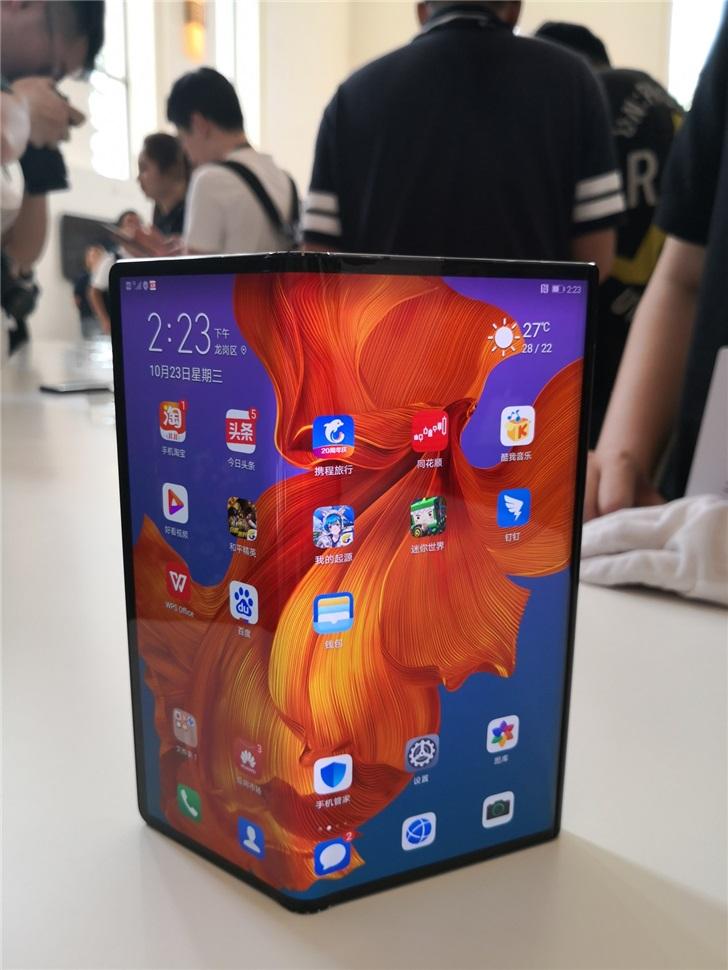 供应链称华为将于明年下半年推出二代可折叠屏手机