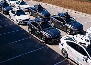 自動駕駛測試車輛總數