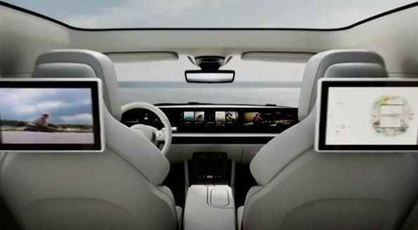 索尼入坑造车?索尼首款纯电动车惊艳亮相2020CES