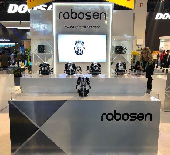乐森机器人亮相2020CES,全球化布局加速推进